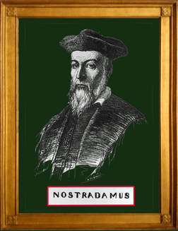 Picture Nostradamus looks at us