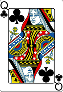 Picture Queen of Clubs